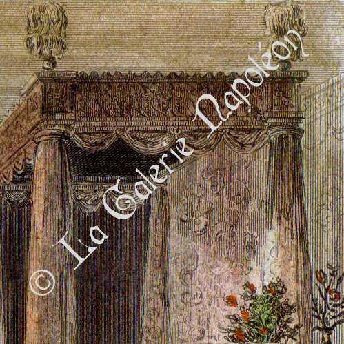 Grabados antiguos muebles ingleses siglo 16 siglo xvi grabado en talla dulce 1842 - Muebles ingleses antiguos ...