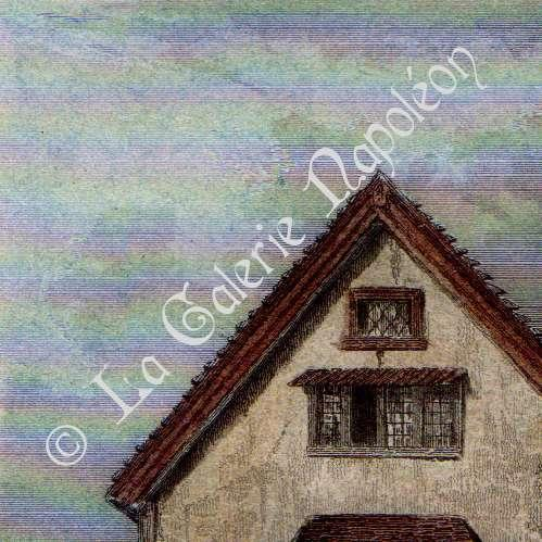 Gravures anciennes architecture anglaise maison du for Architecture anglaise