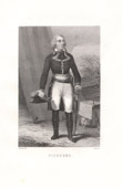 Portrait of Jean Charles Pichegru (1761-1804) - General of French Revolution
