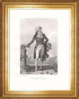 Porträt von Robespierre (1759-1794)