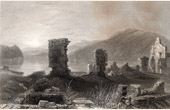View of Ruins of Fort Ticonderoga - Fort Carillon - New France (United States of America)