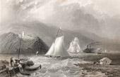 Phare pr�s de Caldwell�s Landing - Hudson River - New York (�tats-Unis d'Am�rique)