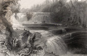 Trenton Falls - Waterfalls of the Northeastern United States of America