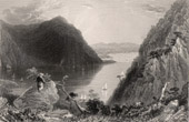 View of Hudson Highlands - Hudson River - New York State (United States of America)