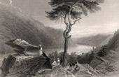 Stich von Shenandoahtal - Appalachen - Harpers Ferry (Virginia - Vereinigten Staaten von Amerika)