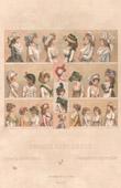 Franz�sische Mode - Frankreich - 18. Jahrhundert - XVIII. Jahrhundert - Frau - Hut - Corsage - Korsett