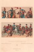 Mode Française - France - 18ème Siècle - XVIIIème Siècle - Uniforme Militaire - Armée Française - Cavalerie - Hussard - Chevau-Légers