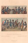 Mode Française - France - 18ème Siècle - XVIIIème Siècle - Uniforme Militaire - Artillerie - Hussard