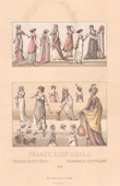 French Fashion - France - 18th Century - XVIIIth Century - French Directory and Consulate - Gr�comanie