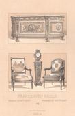 Französische Mode - Frankreich - 18. Jahrhundert - XVIII. Jahrhundert - Möbel - Herrschaft von Ludwig XVI. von Frankreich