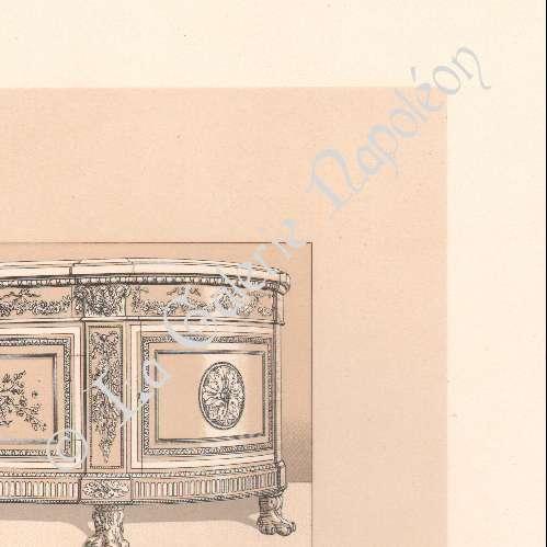 Grabados antiguos moda francesa francia siglo 18 - Muebles siglo xviii ...