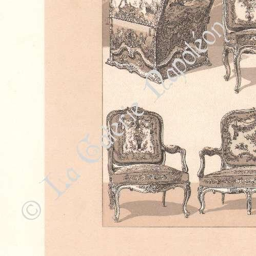 Grabados antiguos muebles antiguos europa siglo 18 - Muebles siglo xviii ...