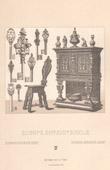 Furniture and Art object - Europe - XVIth Century - XVIIth Century - Chair - Key