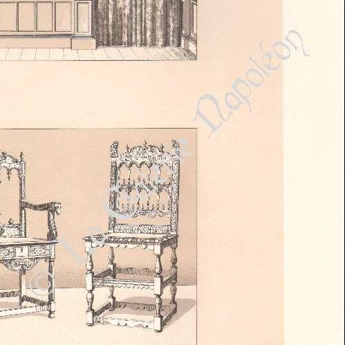 alte stiche m bel europa xvi jahrhundert xvii jahrhundert sitzen bett. Black Bedroom Furniture Sets. Home Design Ideas