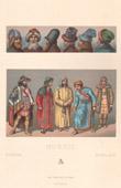 Traditionelle Kleidung - Russland - 19. Jahrhundert - XIX. Jahrhundert - Frisieren - Haarschneiden - Haartracht - Kopfputz