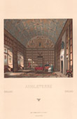 England - Picture of a Seigniorial House - 16th Century - XVIth Century - Salon