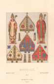 Fashion and Costumes - Middle Ages - 14th Century - XIVth Century - Clergy - Bishop