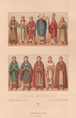 Fashion and Costumes - Europe - Middle Ages - 15th Century - XVth Century - Clergy - Bishop - Priest