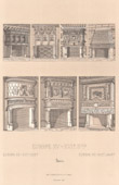 Decoration - Europe - France - XIIIth Century - XVth Century - XVIth Century - Interior of House - Hearth