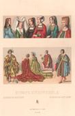 Franz�sische Mode und Kost�me - XV. Jahrhundert - XVI. Jahrhundert - Frauen - Haartracht