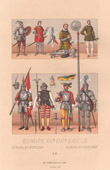 Military Uniform - XVth Century - XVIth Century - France - Armour - Armor - Poignard - Spear - Swiss Guard