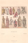 Roman Costume - Roman Fashion - Ancient Rome - Toga - Togatus - Woman - Palla - Nero