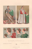 Italian Fashion - Italy - Italian Costume - Woman - Hairdressing - 16th Century - XVIth Century