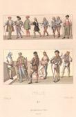 Italian Fashion - Italy - Italian Costume - Nobility - Condottiere - Condottieri