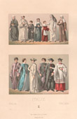 Italian Fashion - Italy - Italian Costume - Clergy - XVIIth Century