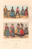 Spanish Fashion - Spain - Spanish Costume - Peasant - Wet Nurse