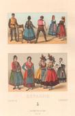 Spanish Fashion - Spain - Spanish Costume - Peasant - Wet Nurse