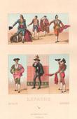 Spanische Mode - Spanien - Spanisch Tracht - Kost�me - Corrida - Stierkampf - Torero - Pikador