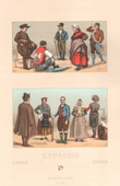 Spanish Fashion - Spain - Spanish Costume - Le�n - Maragatos - Galicia - Aragon - Town crier - Pregonero - Castile - Valladolid