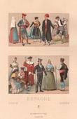 Spanish Fashion - Spain - Spanish Costume - Catalonia - Aragon