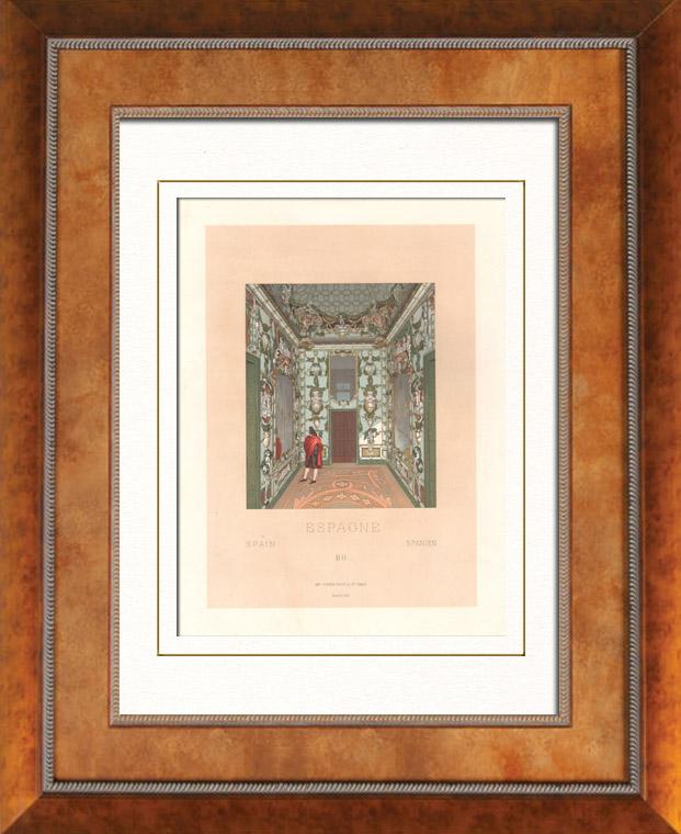 Alte stiche dekoration spanien palacio del buen for Dekoration spanien