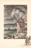 Collection Mills of France 42/68 - Windmill - Moulin du Seigneur - Camaret-sur-Mer (Finistère - France) - 1845