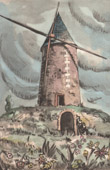 Collection Mills of France 64/68 - Windmill - Quenet - Cernay (Vienne - France)
