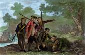 James Cook in Neuseeland - Leutnant Burney Deckt den K�rper von Rowe auf