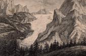 Rosenlauigletscher - Glacier - Wetterhorn - Canton of Berne - Bernese Alps (Switzerland)