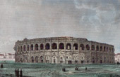N�mes Arena - Roman Amphitheater (France)
