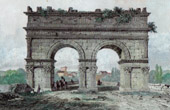 Arch of Germanicus - Ancient Rome - Saintes (France)