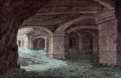 Ch�teau Gaillard - Les Andelys (Eure - France) - Crypt