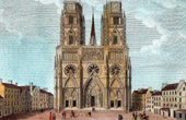 Historic Monument - Orl�ans Cathedral (France)