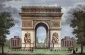 Arc de Triomphe of Paris (France)