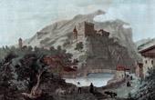 View of Landeck - Castle - Tyrol (Austria)