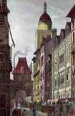 Gros-Horloge at Rouen (France)