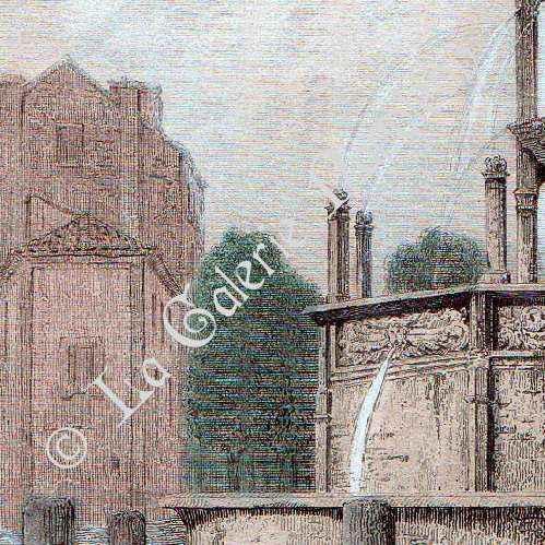 Stampe antiche sorgentedi amboise ad clermont ferrand for Ad garage clermont ferrand