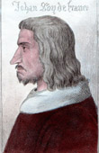 Portrait of John II of France (1319-1364)