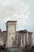 Chaise-Dieu Abbey - Tour de Clement VI - Haute-Loire - Auvergne (France)