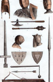 Ancient French Weapons - XIIIth Century (France)